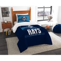 MLB Tampa Bay Rays Grand Slam Twin Comforter Set