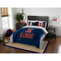 University of Illinois Modern Take Full/Queen Comforter Set