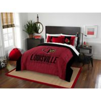 University of Louisville Modern Take Full/Queen Comforter Set