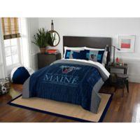 Collegiate Modern Take University of Maine Full/Queen Comforter Set