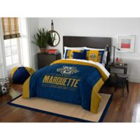 Marquette University Modern Take Full/Queen Comforter Set