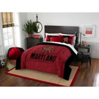 University of Maryland Modern Take Full/Queen Comforter Set