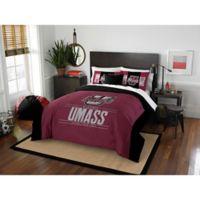 University of Massachusetts Modern Take Full/Queen Comforter Set