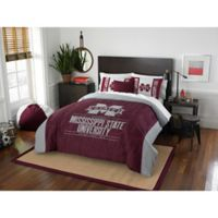 Mississippi State University Modern Take Full/Queen Comforter Set