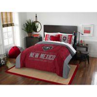 University of New Mexico Modern Take Full/Queen Comforter Set