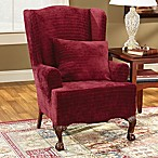 Sure Fit® Stretch Pique Short Dining Room Chair Slipcover - Bed ...