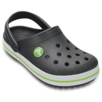 Crocs™ Crocband™ Size 4 Kids' Clog in Grey
