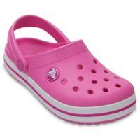 Crocs™ Crocband™ Size 7 Kids' Clog in Pink
