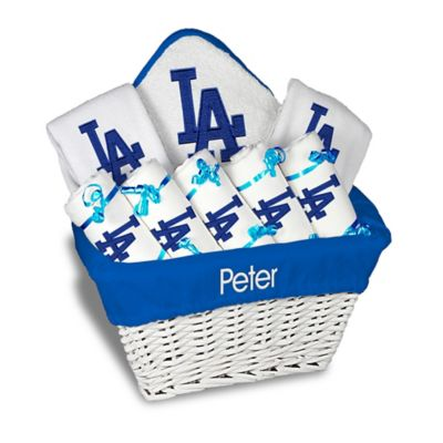 Personalized baby gift baskets from buy buy baby personalized gift sets designs by chad and jake mlb personalized los angeles dodgers 8 negle Image collections