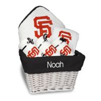Designs by Chad and Jake MLB Personalized San Francisco Giants 6-Piece Baby Gift Basket