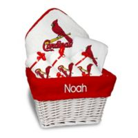 Designs by Chad and Jake MLB Personalized St. Louis Cardinals 6-Piece Baby Gift Basket