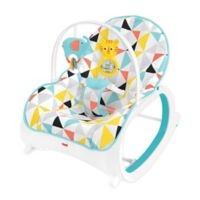 Fisher Price Zoo Animals Infant To Toddler Rocker
