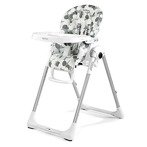 Peg Perego Prima Pappa Zero 3 High Chair in Nuvola Grey | Tuggl