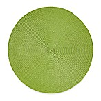 Indoor/Outdoor 15-Inch Round Placemat in Grass