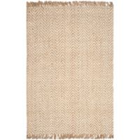Safavieh Natural Fiber Lizette 5-Foot x 8-Foot Area Rug in Bleach/Natural