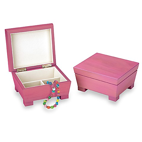 Reed and Barton® Anna Jewelry Box in Pink