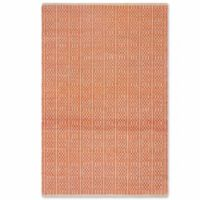 Fab Habitat Metro Collection Belfast 4-Foot x 6-Foot Indoor/Outdoor Area Rug in Apricot