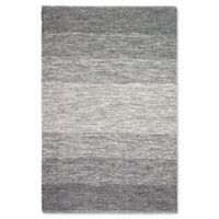 Fab Habitat Zen Collection Lucent 6-Foot x 9-Foot Area Rug in Black