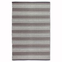 Fab Habitat Zen Collection Ethos 3-Foot x 5-Foot Area Rug in Grey