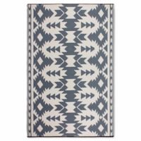 Fab Habitat World Collection 5-Foot x 8-Foot Miramar Rug in Grey