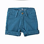 Troy James Size 3-6M Twill Khaki Short in Blue