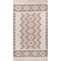 Jaipur Desert Emmett 2-Foot x 3-Foot Indoor/Outdoor Rug in Taupe