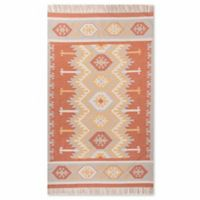 Jaipur Desert Emmett 5-Foot x 8-Foot Indoor/Outdoor Rug in Orange