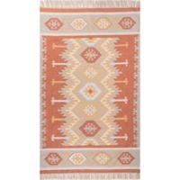 Jaipur Desert Emmett 8-Foot x 10-Foot Indoor/Outdoor Rug in Orange