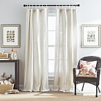 Seattle 84-Inch Tie Tab Window Curtain Panel in Natural