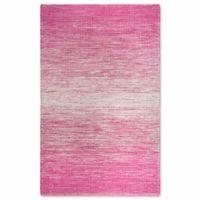 Fab Habitat Estate Collection Stockholm 3-Foot x 5-Foot Indoor/Outdoor Rug in Pink
