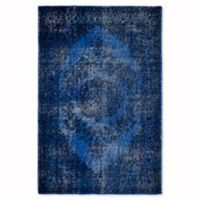 Fab Habitat Heritage Collection 3-Foot x 5-Foot Jal Mahal Rug in Blue
