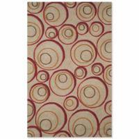 Liora Manne Spello 5-Foot x 7-Foot 6-Inch Indoor/Outdoor Area Rug in Red