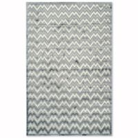 Safavieh Paradise Zag 4-Foot x 6-Foot Area Rug in Light Grey/Dark Grey