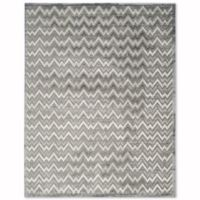 Safavieh Paradise Zag 8-Foot x 10-Foot Area Rug in Light Grey/Dark Grey