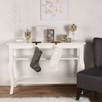 Kate and Laurel Lillian Console Table in White