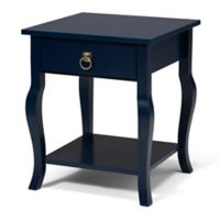 Kate and Laurel Lillian Side Table in Navy