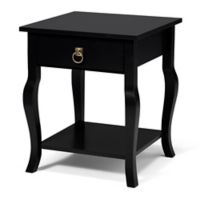 Kate and Laurel Lillian Side Table in Black