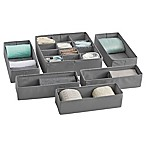 Studio 3B 6-Piece Organizer Drawer Set in Grey