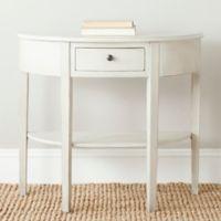 Safavieh Abram Console Table in White
