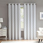Marrakesh 108-Inch Grommet Top Window Curtain Panel in Stone