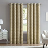 Marrakesh 84-Inch Grommet Top Window Curtain Panel in Linen