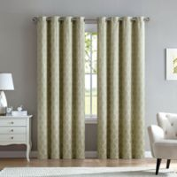 Marrakesh 63-Inch Grommet Top Window Curtain Panel in Sage