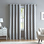 Marrakesh 84-Inch Grommet Top Window Curtain Panel in Grey