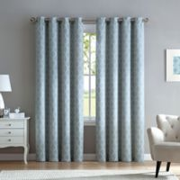Marrakesh 84-Inch Grommet Top Window Curtain Panel in Spa