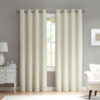 Marrakesh 84-Inch Grommet Top Window Curtain Panel in Ivory