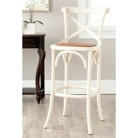 Safavieh Franklin Barstool in Ivory