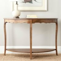 Safavieh Christina Console Table in Firewood