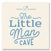The Little Man Cave Canvas Wall Art