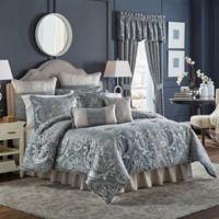 Croscill® Gabrijel Queen Comforter Set in Slate Blue