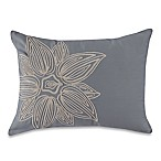 Barbara Barry Windswept Oblong Throw Pillow in Lagoon
